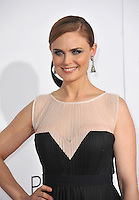 Emily Deschanel at the 2014 People's Choice Awards at the Nokia Theatre, LA Live.<br /> January 8, 2014  Los Angeles, CA<br /> Picture: Paul Smith / Featureflash