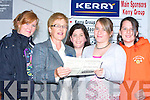 PALS: Pals having a good night at the Dogs in aid of the Kerry General Hospital sponsored by Kerry Group at the Kingdom Greyhound Stadium, Tralee on Friday night. Front l-r: Peggy Daly and Maeve O'Brien. Back l-r: Sinead O'Brien,Mary Jo Daly and Sarah Kate Daly(Fenit).   Copyright Kerry's Eye 2008