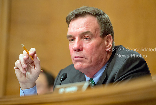 United States Senator Mark Warner (Democrat of Virginia) questions Janet L. Yellen, Chair, Board of Governors of the Federal Reserve System, as she testifies before the United States Senate Committee on Banking, Housing, and Urban Affairs on &ldquo;The Semiannual Monetary Policy Report to the Congress&rdquo; on Capitol Hill in Washington, DC on Thursday, July 13, 2017.<br /> Credit: Ron Sachs / CNP