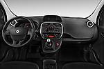 Straight dashboard view of a 2013 - 2014 Renault Kangoo Express Maxi 5 Door Mini Mpv.