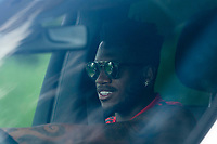 21st May 2020, Manchester, England;  Manchester United's Fred arrives at the club s Carrington training ground for socially distanced training in Manchester, Britain on May 21, 2020. The Premier League clubs were allowed to start small-group training from Tuesday after the top-flight football league in England was suspended on March 13 due to COVID-19 outbreak.
