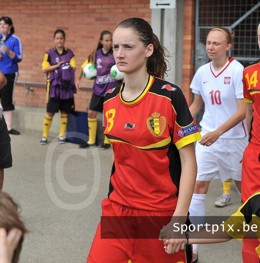 Belgium - Poland : Bieke Vandenbussche<br /> foto David Catry / nikonpro.be