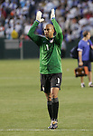 7 June 2007: Tim Howard. The United States Men's National Team defeated the National Team of Guatemala 1-0 at the Home Depot Center in Carson, California in a first round game in the CONCACAF Gold Cup...