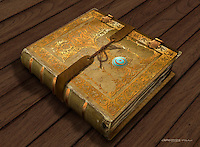 The Encantus is a book which holds the history of sorcery, and is magically up to date at all times.
