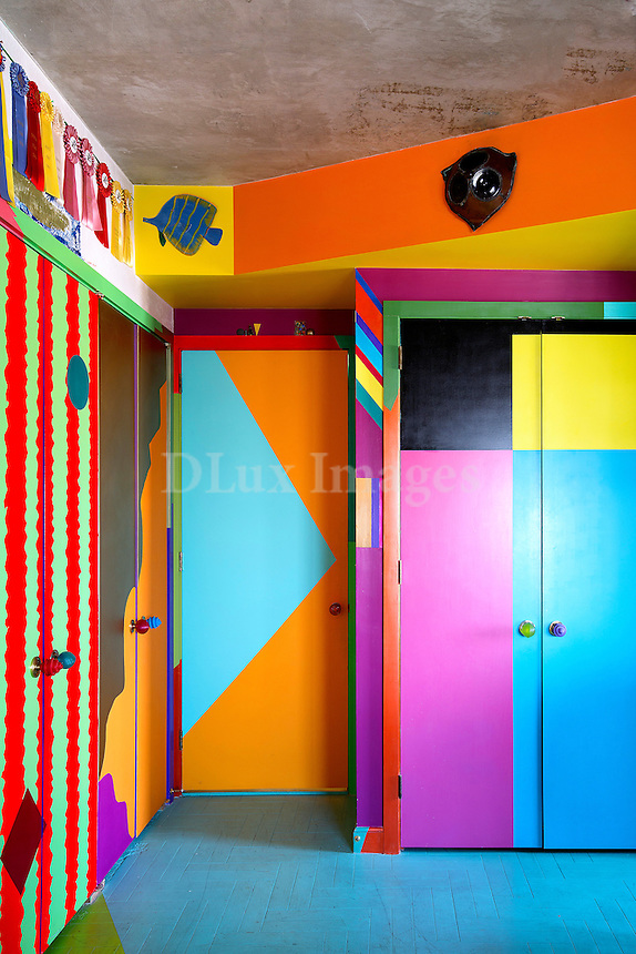 colored closets
