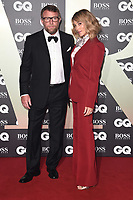 LONDON, UK. September 03, 2019: Guy Ritchie & Jacqui Ainsley arriving for the GQ Men of the Year Awards 2019 in association with Hugo Boss at the Tate Modern, London.<br /> Picture: Steve Vas/Featureflash