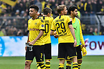 11.05.2019, Signal Iduna Park, Dortmund, GER, DFL, 1. BL, Borussia Dortmund vs Fortuna Duesseldorf, DFL regulations prohibit any use of photographs as image sequences and/or quasi-video<br /> <br /> im Bild Schlussjubel / Schlu&szlig;jubel / Emotion / Freude / der Mannschaft von Dortmund<br /> <br /> Foto &copy; nordphoto/Mauelshagen