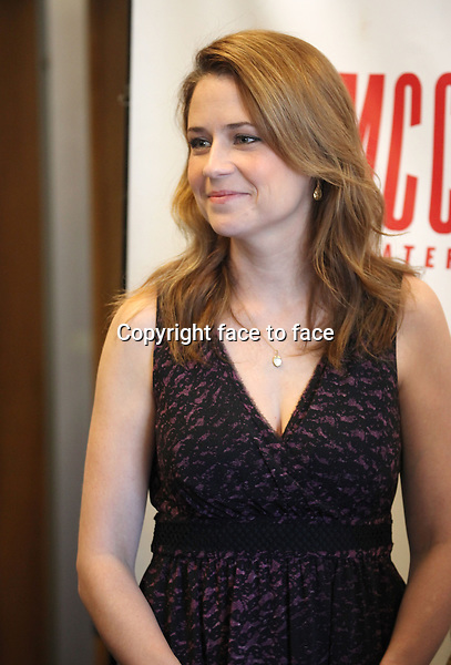 Jenna Fischer attending the Meet and Greet the Cast and Creative Team of MCC Theater's 'Reason To Be Happy' at the MTC Rehearsal Studios in New York City on 5/7/2013....Credit: McBride/face to face