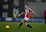 Graham Kelly of Sheffield Utd during the Checkatrade Trophy match at Blundell Park Stadium, Grimsby. Picture date: November 9th, 2016. Pic Simon Bellis/Sportimage
