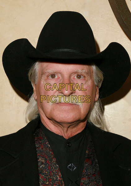 JACK KOZLOWSKI.9th Annual Silver Spur Awards The Reel Cowboys held at Sportmans Lodge, Studio City, California, USA, .20 October 2006..portrait headshot hat moustache.Ref: ADM/CH.www.capitalpictures.com.sales@capitalpictures.com.©Charles Harris/AdMedia/Capital Pictures.