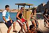 Young people prepared for looking for jellyfishes at the beach of El Toro, Calvia<br /> <br /> Jóvenes preparados para buscar medusas en la playa de El Toro, Calvià<br /> <br /> Junge Leute bereit, am Strand El Toro, Calvia, nach Quallen  zu suchen<br /> <br /> 3008 x 2000 px<br /> 150 dpi: 50,94 x 33,87 cm<br /> 300 dpi: 25,47 x 16,93 cm