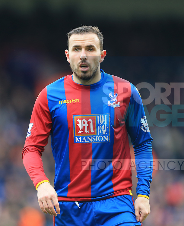 Crystal Palace's Jordan Mutch in action <br /> <br /> - English Premier League - Crystal Palace vs Liverpool  - Selhurst Park - London - England - 6th March 2016 - Pic David Klein/Sportimage
