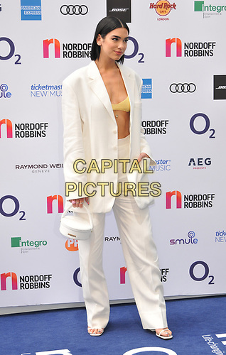 Dua Lipa at the Nordoff Robbins O2 Silver Clef Awards 2019, JW Marriott Grosvenor House Hotel, Park Lane, London, England, UK, on Friday 05th July 2019.<br /> CAP/CAN<br /> ©CAN/Capital Pictures