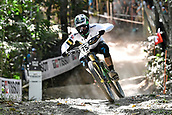 10th September 2017, Smithfield Forest, Cairns, Australia; UCI Mountain Bike World Championships; Sam Hill (AUS) during the elite mens downhill race;