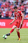 Bayern Munich Forward Robert Lewandowski in action during the 2017 International Champions Cup China match between FC Bayern and AC Milan at Universiade Sports Centre Stadium on July 22, 2017 in Shenzhen, China. Photo by Marcio Rodrigo Machado/Power Sport Images