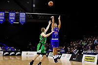Saints' Reuben Te Rangi in action during the NBL - Cigna Saints v Manawatu Jets at TSB Bank Arena, Wellington, New Zealand on Sunday 16 June 2019. <br /> Photo by Masanori Udagawa. <br /> www.photowellington.photoshelter.com