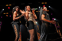 LONDON, ENGLAND - APRIL 10: Rhona Bennett, Cindy Herron and Terry Ellis of 'En Vogue' performing at indigo, O2 Arena on April 10, 2018 in London, England.<br /> CAP/MAR<br /> &copy;MAR/Capital Pictures