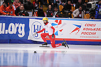 "SHORT TRACK: MOSCOW: Speed Skating Centre ""Krylatskoe"", 14-03-2015, ISU World Short Track Speed Skating Championships 2015, Charles HAMELIN (#110 
