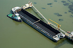 Aerial view of nautical vessel