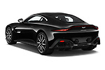 Car pictures of rear three quarter view of 2018 Aston Martin Vantage - 2 Door Coupe Angular Rear
