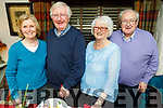 Michael Devane from Tralee celebrating his birthday in Cassidys on Friday.<br /> Standing l to r: Eileen and Michael Devane, Angela and Declan Moriarty.