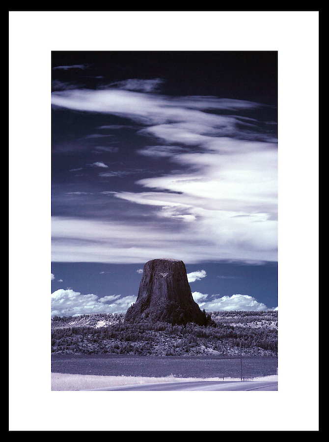 Devils Tower, Wyoming. © Andrew Shurtleff