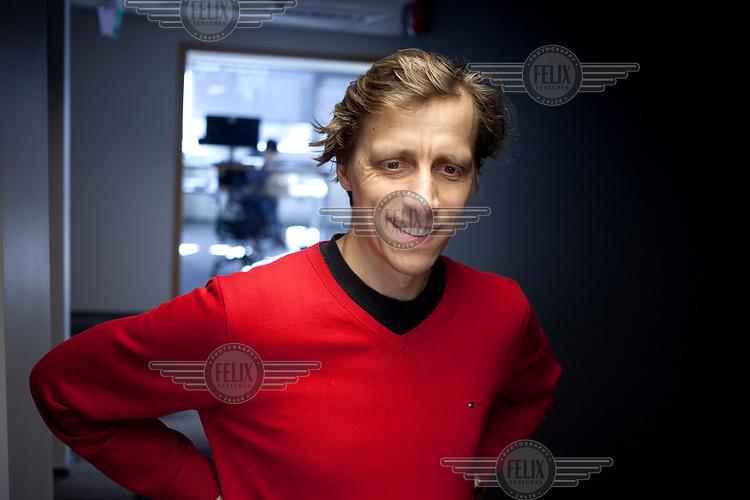 Ahti Heinla, CEO of robotic delivery company Starship.