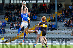 David Moran Kerins O Rahillys and Daithi  Casey Dr Crokes contest the kick out during their County Championship clash in Fitzgerald Stadium on Sunday