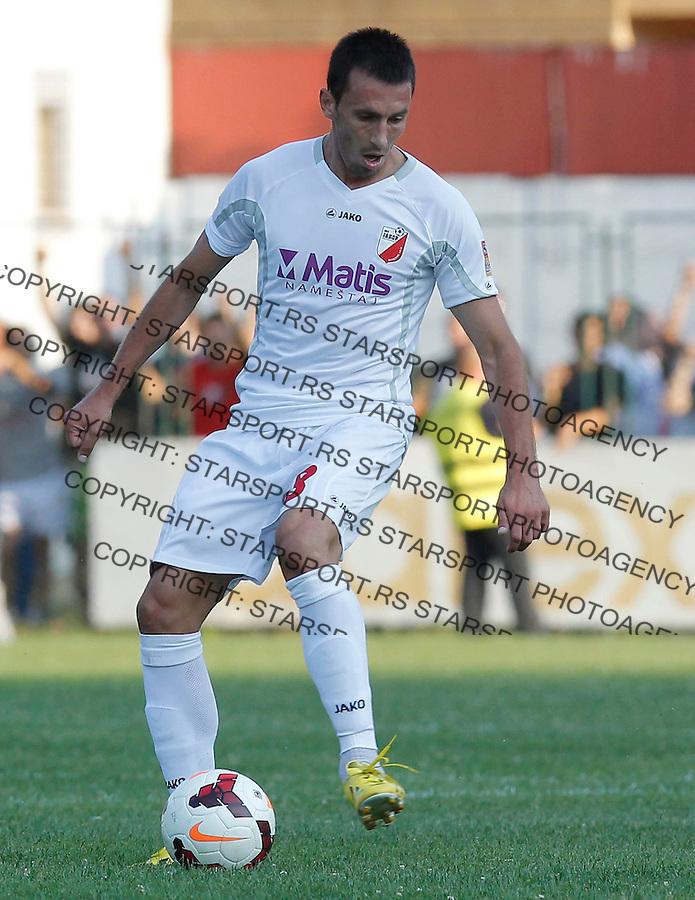 Fudbal Super liga season 2013-2014<br /> Javor v Crvena Zvezda <br /> Vladimir Radivojevic<br /> Ivanjica, 11.08.2013.<br /> foto: Srdjan Stevanovic/Starsportphoto &copy;