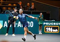 Rotterdam, The Netherlands, 11 Februari 2020, ABNAMRO World Tennis Tournament, Ahoy, <br /> Karen Khachnanov (RUS), Fabio Fognini (ITA).<br /> Photo: www.tennisimages.com