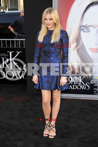 Chloe Grace Moretz at the premiere of Warner Bros. Pictures' 'Dark Shadows' at Grauman's Chinese Theatre on May 7, 2012 in Hollywood, California. © mpi35/MediaPunch Inc.