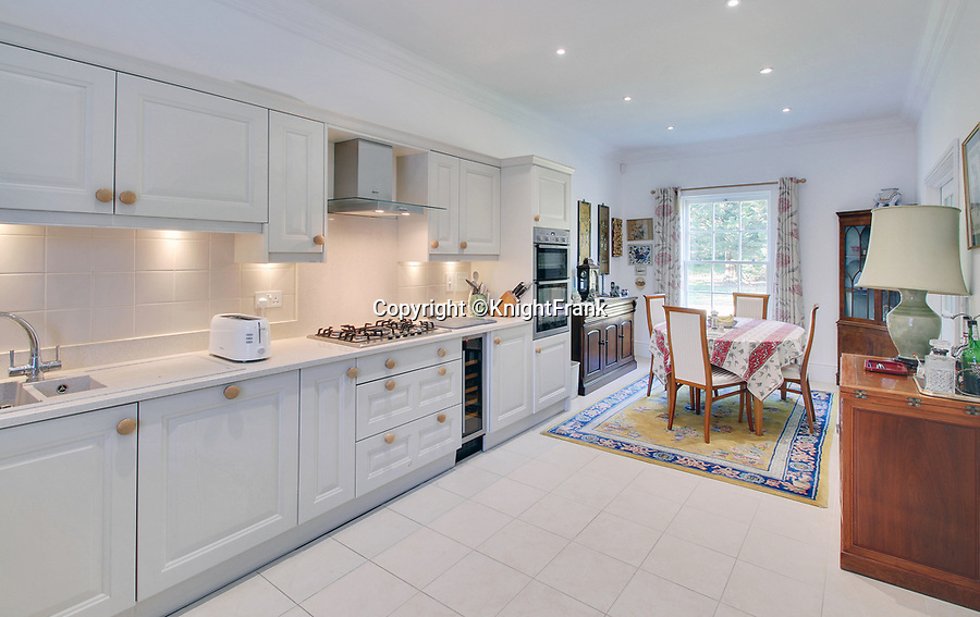 BNPS.co.uk (01202 558833)<br /> Pic:  KnightFrank/BNPS<br /> <br /> A stylish home that sits on the land that inspired Frances Hodgson Burnett to write The Secret Garden has emerged for sale.<br /> <br /> The charming three bedroom house is tucked within the grounds of magnificent Great Maytham Hall in Cranbrook, Kent.<br /> <br /> The stunning country home, built in 1721, was home to the author between 1898 and 1907 when she was aged in her 50s
