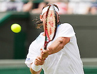 25-06-12, England, London, Tennis , Wimbledon, Nalbandian