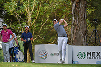 Sergio Garcia (ESP) watches his tee shot on 16 during round 3 of the World Golf Championships, Mexico, Club De Golf Chapultepec, Mexico City, Mexico. 2/23/2019.<br /> Picture: Golffile | Ken Murray<br /> <br /> <br /> All photo usage must carry mandatory copyright credit (© Golffile | Ken Murray)