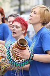 Samba Festival on West Street...(Photo credit should read Jenny Matthews www.newsfile.ie)....This Picture has been sent you under the conditions enclosed by:.Newsfile Ltd..The Studio,.Millmount Abbey,.Drogheda,.Co Meath..Ireland..Tel: +353(0)41-9871240.Fax: +353(0)41-9871260.GSM: +353(0)86-2500958.email: pictures@newsfile.ie.www.newsfile.ie.