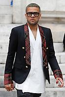 Dani AlvesParigi 28-09-2017 <br /> Settimana della moda di Parigi <br /> Balmain  <br /> Foto Michael Baucher / Panoramic/Insidefoto