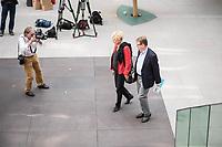 Die SPD-Mitglieder Gesine Schwan, Politikwissenschaftlerin (links im Bild) und Ralf Stegner, Vorsitzender der SPD-Fraktion im Schleswig-Holsteinischen Landtag (rechts im Bild) erklaerten am Freitag den 16. August 2019 in Berlin ihre gemeinsame Kandidatur zum Parteivorsitz als Doppelspitze.<br /> 16.8.2019, Berlin<br /> Copyright: Christian-Ditsch.de<br /> [Inhaltsveraendernde Manipulation des Fotos nur nach ausdruecklicher Genehmigung des Fotografen. Vereinbarungen ueber Abtretung von Persoenlichkeitsrechten/Model Release der abgebildeten Person/Personen liegen nicht vor. NO MODEL RELEASE! Nur fuer Redaktionelle Zwecke. Don't publish without copyright Christian-Ditsch.de, Veroeffentlichung nur mit Fotografennennung, sowie gegen Honorar, MwSt. und Beleg. Konto: I N G - D i B a, IBAN DE58500105175400192269, BIC INGDDEFFXXX, Kontakt: post@christian-ditsch.de<br /> Bei der Bearbeitung der Dateiinformationen darf die Urheberkennzeichnung in den EXIF- und  IPTC-Daten nicht entfernt werden, diese sind in digitalen Medien nach §95c UrhG rechtlich geschuetzt. Der Urhebervermerk wird gemaess §13 UrhG verlangt.]