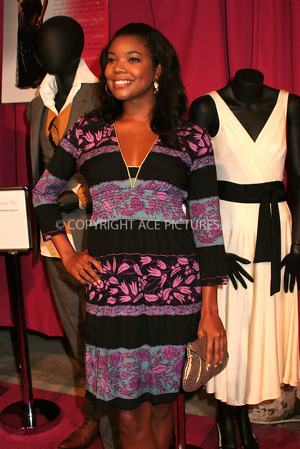 WWW.ACEPIXS.COM . . . . .  ....August 28, 2006, New York City. ....Gabrielle Union attends the party for the launch of June Ambrose's new book 'Effortless Style' held at Tenjune and hosted by Sean Diddy Combs. ....Please byline: NANCY RIVERA- ACE PICTURES.... *** ***..Ace Pictures, Inc:  ..Philip Vaughan (212) 243-8787 or (646) 769 0430..e-mail: info@acepixs.com..web: http://www.acepixs.com