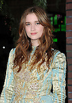 "Alice Englert arriving at the World Premiere of ""Beautiful Creatures"" held at  TCL Grauman's Chinese Theatre in Los Angeles, CA. February 6, 2013."