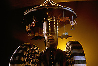 Beetlejuice (1988)<br /> Michael Keaton<br /> *Filmstill - Editorial Use Only*<br /> CAP/MFS<br /> Image supplied by Capital Pictures