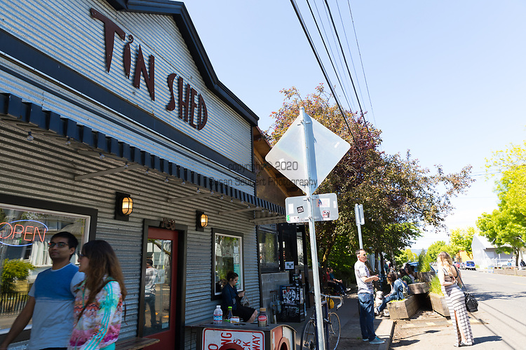 Tin Shed, a restaurant in Portland, Oregon