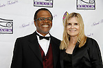 "Love Boat's Ted Lange ""Issac"" with wife Mary Ley at The National Black Theatre Festival with a week of plays, workshops and much more with an opening night gala of dinner, awards presentation followed by Black Stars of the Great White Way followed by a celebrity reception. It is an International Celebration and Reunion of Spirit. (Photo by Sue Coflin/Max Photos)"