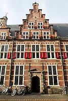 Gemeenlandshuis Rijnland in Leiden. Trapgevel