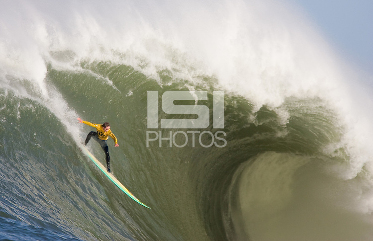 Ion Banner. Mavericks Surf Contest in Half Moon Bay, California on February 13th, 2010.