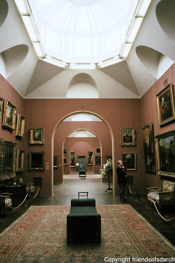 Sir John Soane: Dulwich Gallery--interior.
