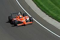 10-18 May 2008, Indianapolis, Indiana, USA. Enrique Bernoldi's Honda/Dallara.©2008 F.Peirce Williams USA.