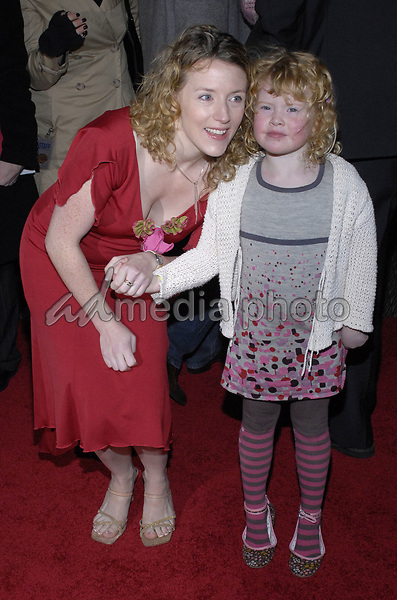 "11 November 2007 - New York, New York - Kirsten Sheridan and Leyla Sheridan. The New York premiere of Warne Bros. Pictures' ""August Rush"" held at  the Ziegfeld Theater.  Photo Credit: Bill Lyons/AdMedia *** Local Caption ***"