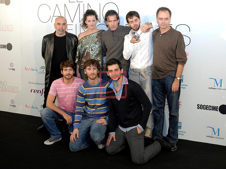 Photocall EL CAMINO DE LOS INGLESES in Barcelona.
