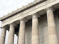 Lincoln Memorial located on the Mall in Washington DC Washington D.C.