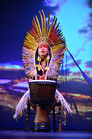 MIAMI, FL - SEPTEMBER 29: KenewecÌ performs during the Journey to Mutum: A Cultural Encounter with the Yawanaw· Tribe of the Brazilian Amazon at Miami Theater Center on September 29, 2016 in Miami, Florida. Credit: MPI10 / MediaPunch